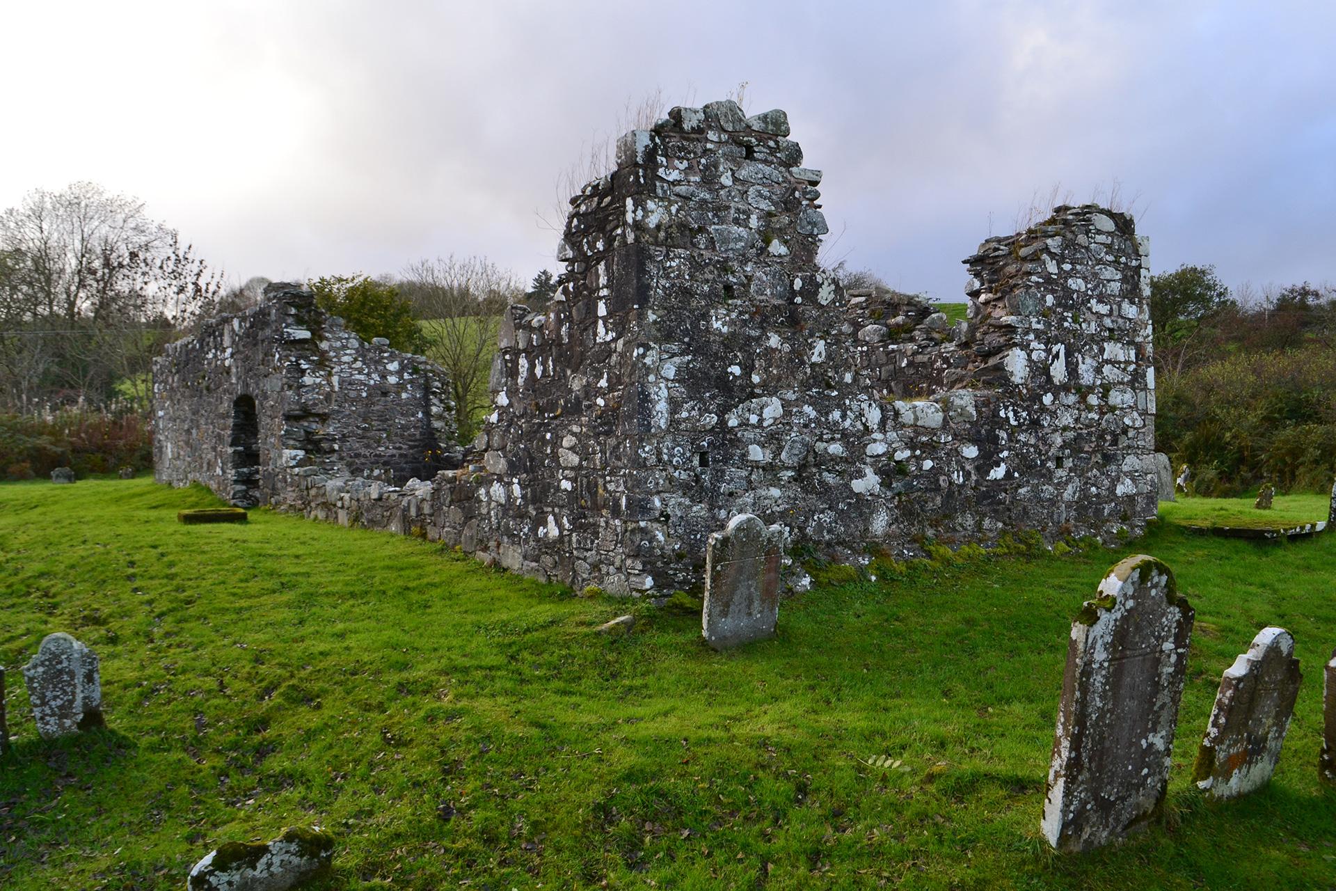 Old church of Screen Moneyconey